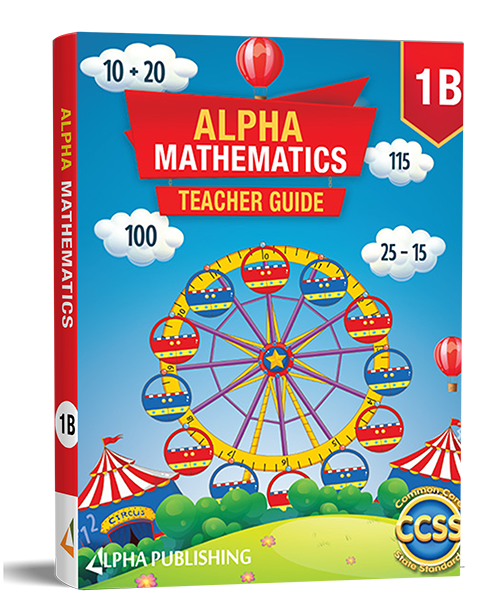 Alpha Math GR1 Student Edition Vol : B