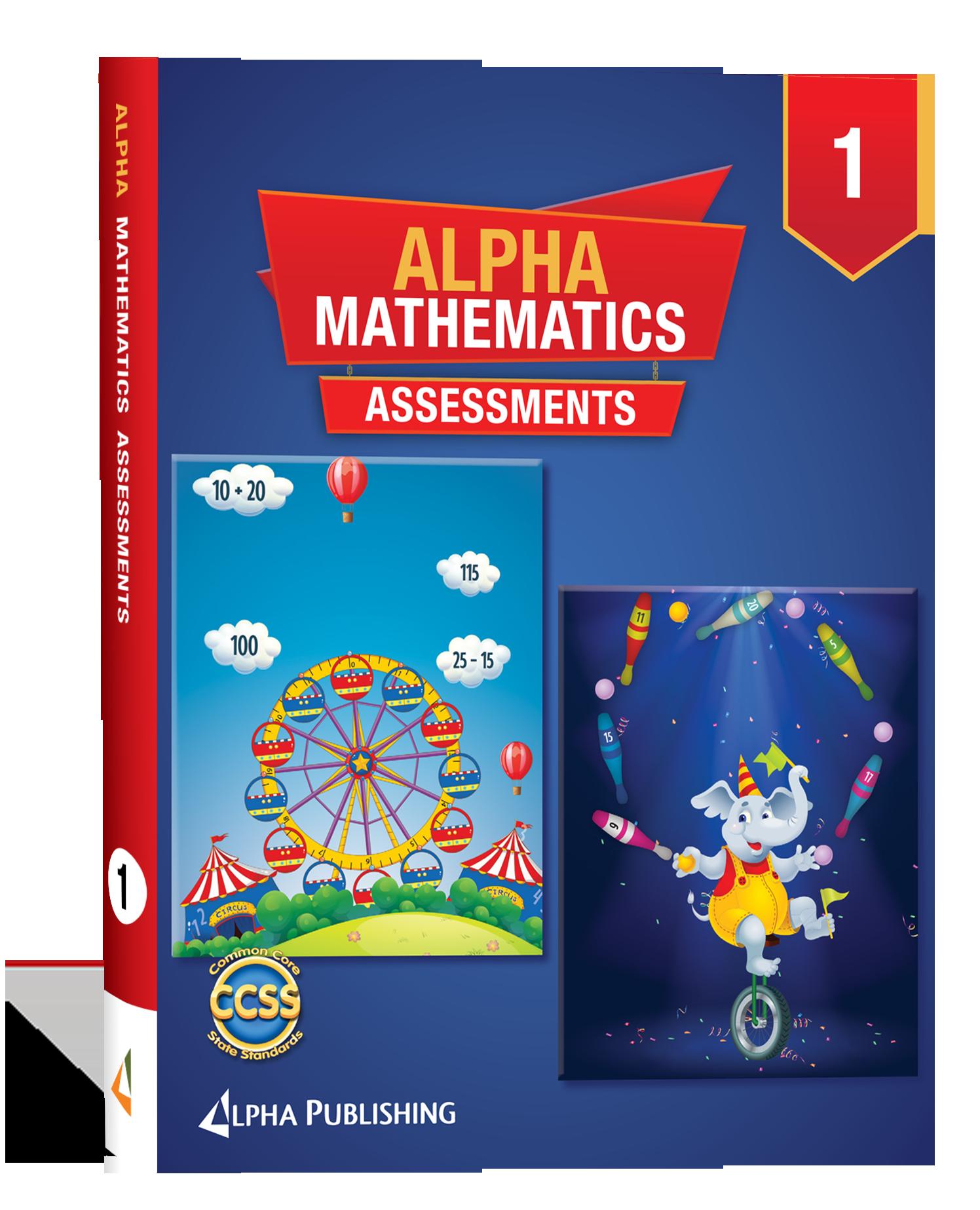 Alpha Math GR 1 Assessment Book