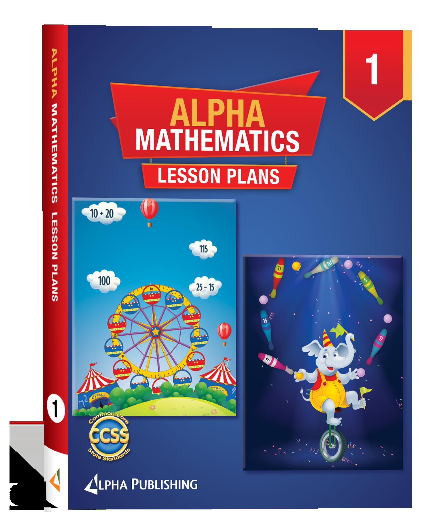 Alpha Math GR 1 Lesson Planner Book