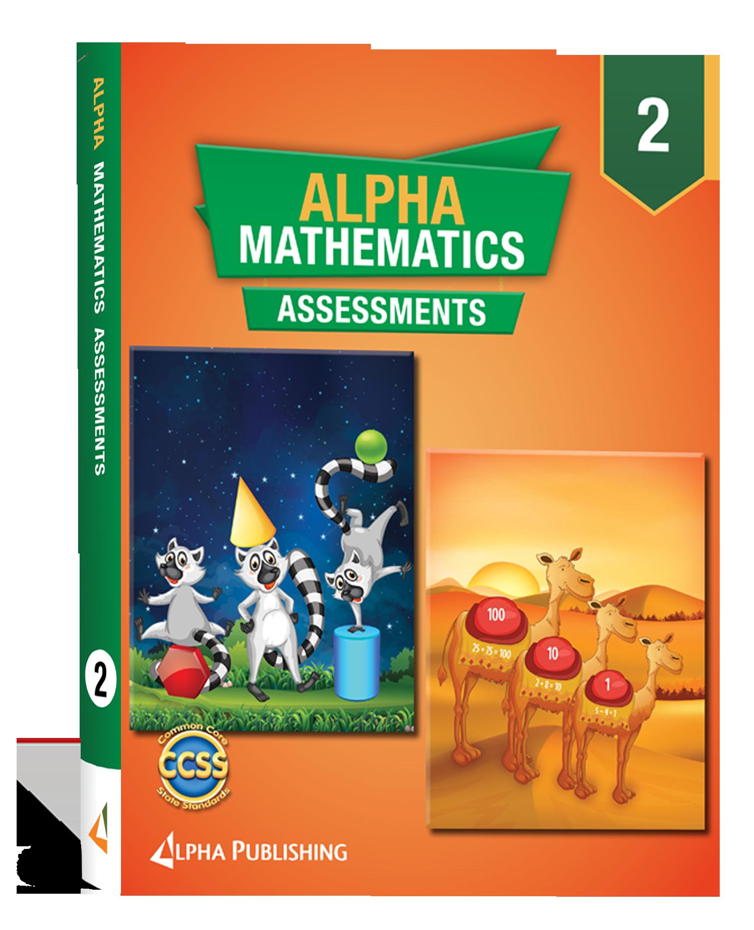 Alpha Math GR 2 Assessment Book