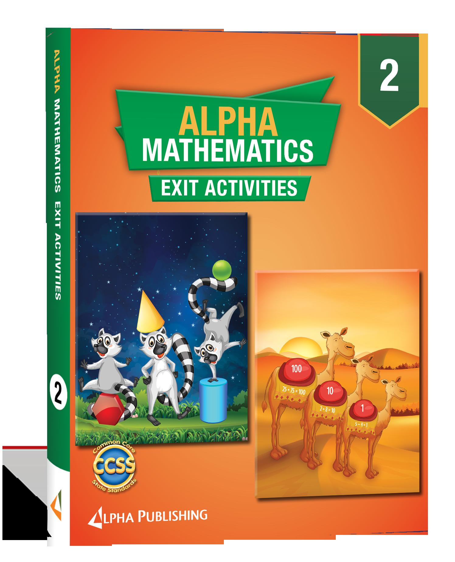 Alpha Math GR 2 Exit Activity Book