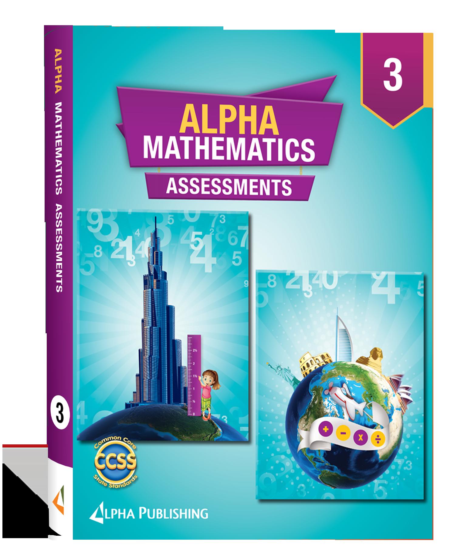 Alpha Math GR 3 Assessment Book