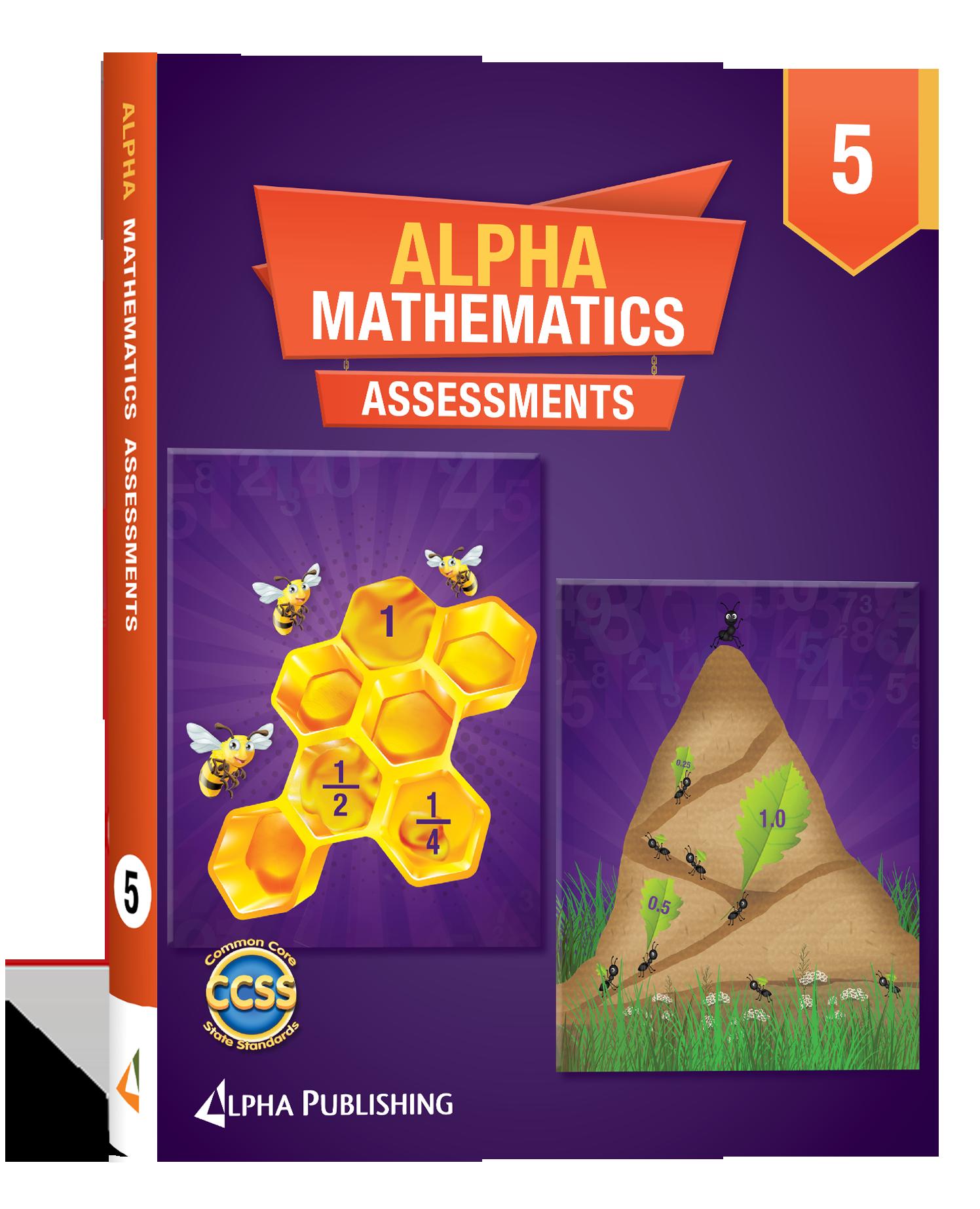 Alpha Math GR 5 Assessment Book