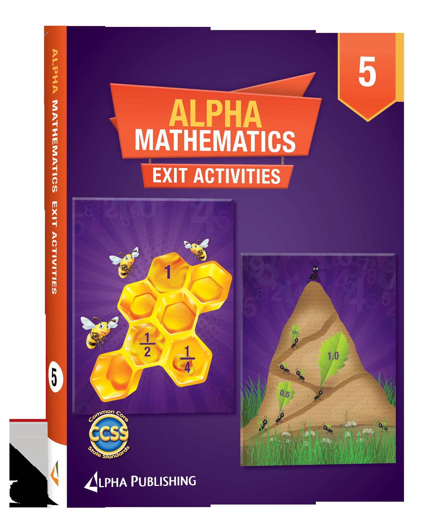 Alpha Math GR 5 Exit Activity Book