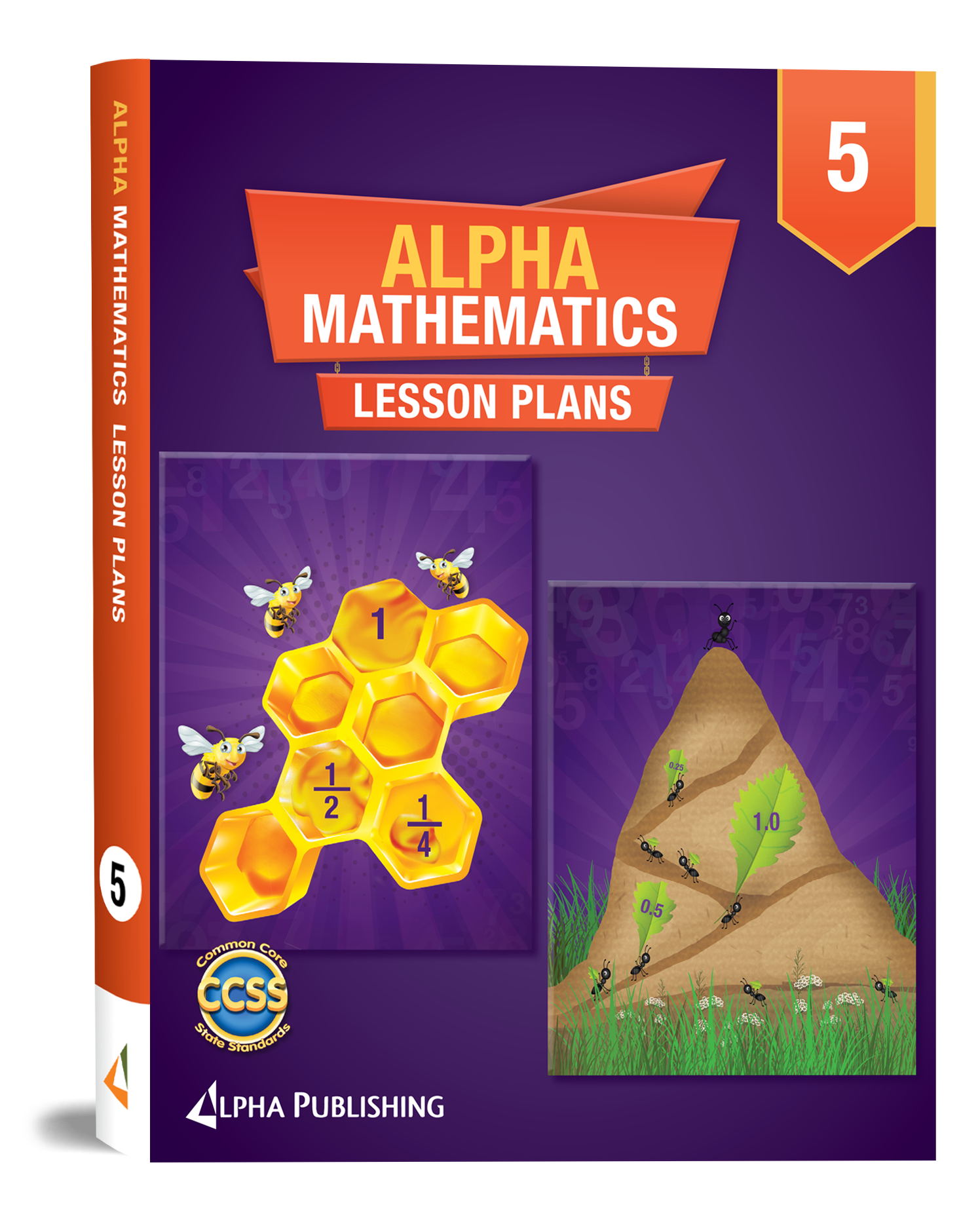 Alpha Math GR 5 Lesson Planner Book