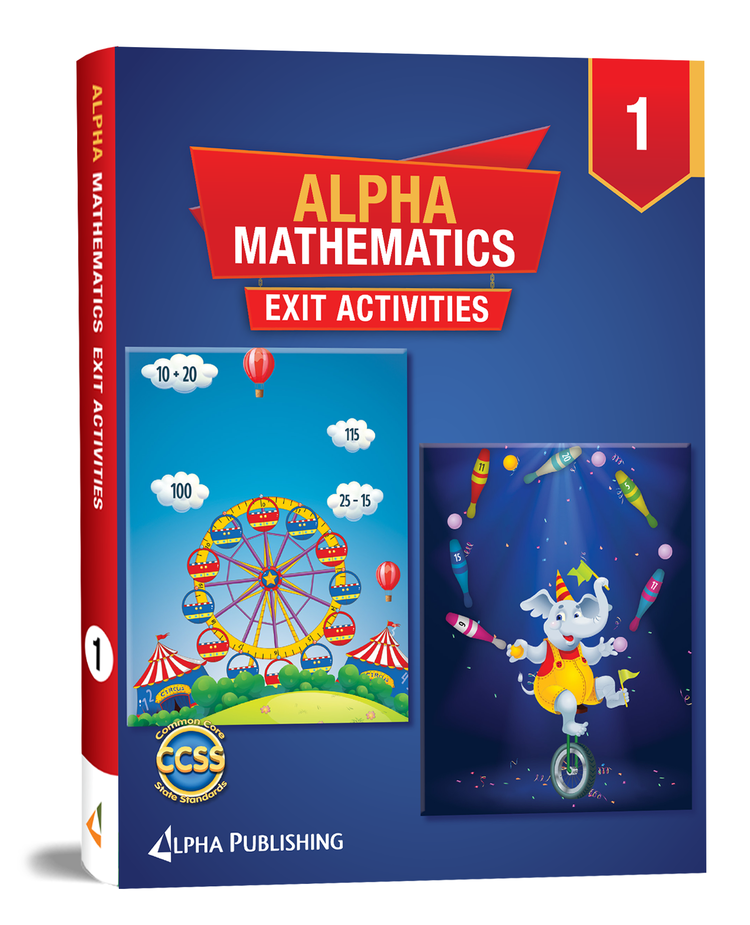 Alpha Math GR1  Exit Activity Book