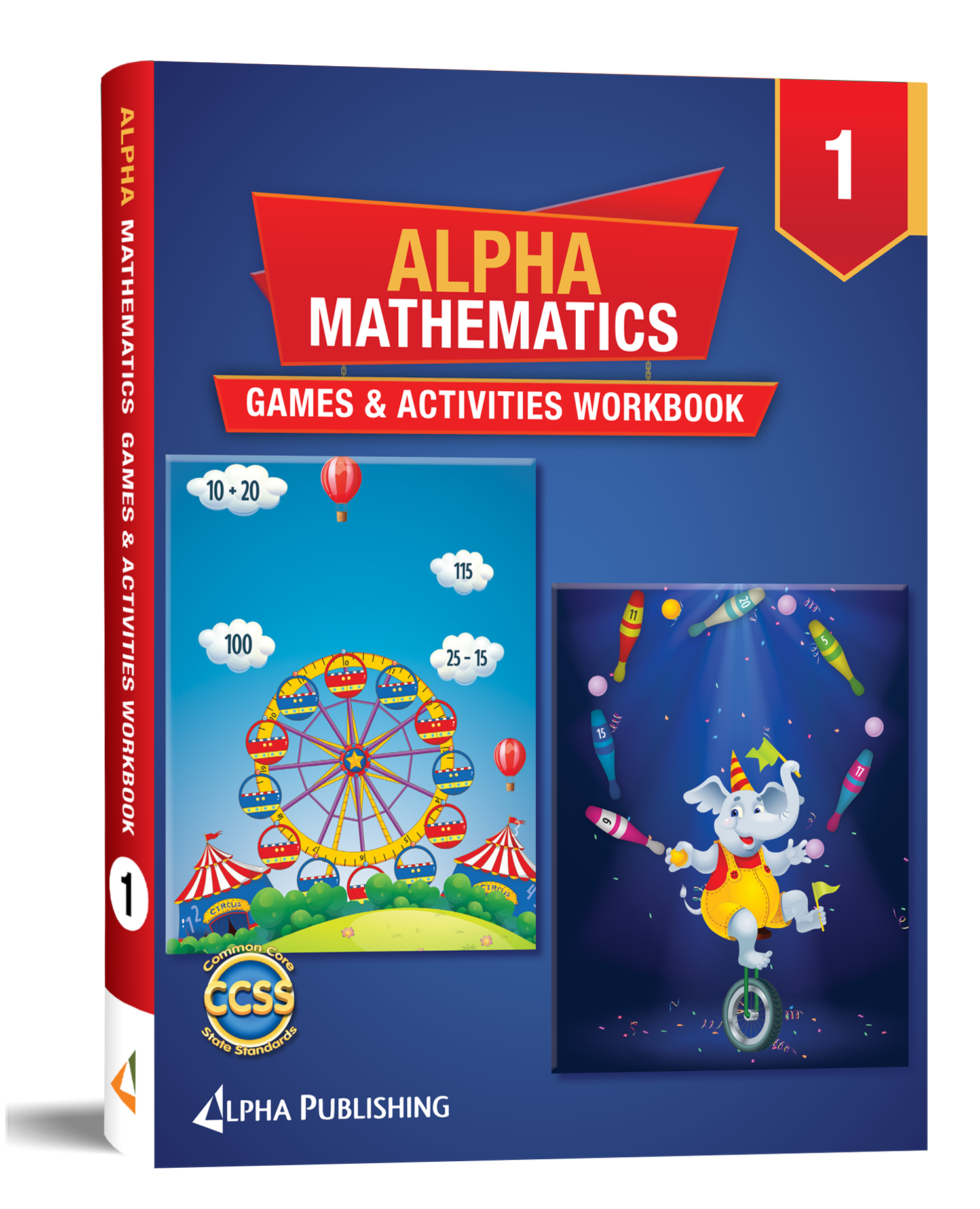 Alpha Math GR1 Games and Activities