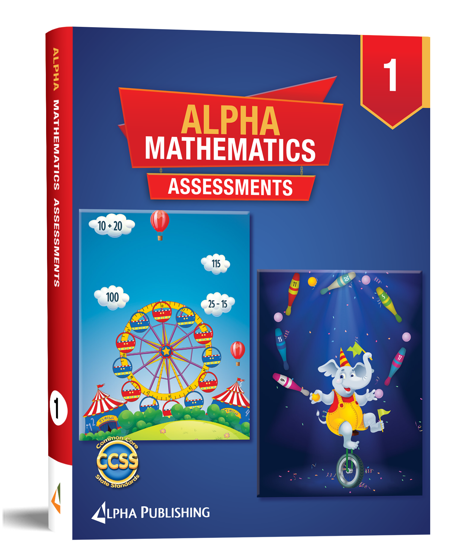 Alpha Math GR1 Assessment Book