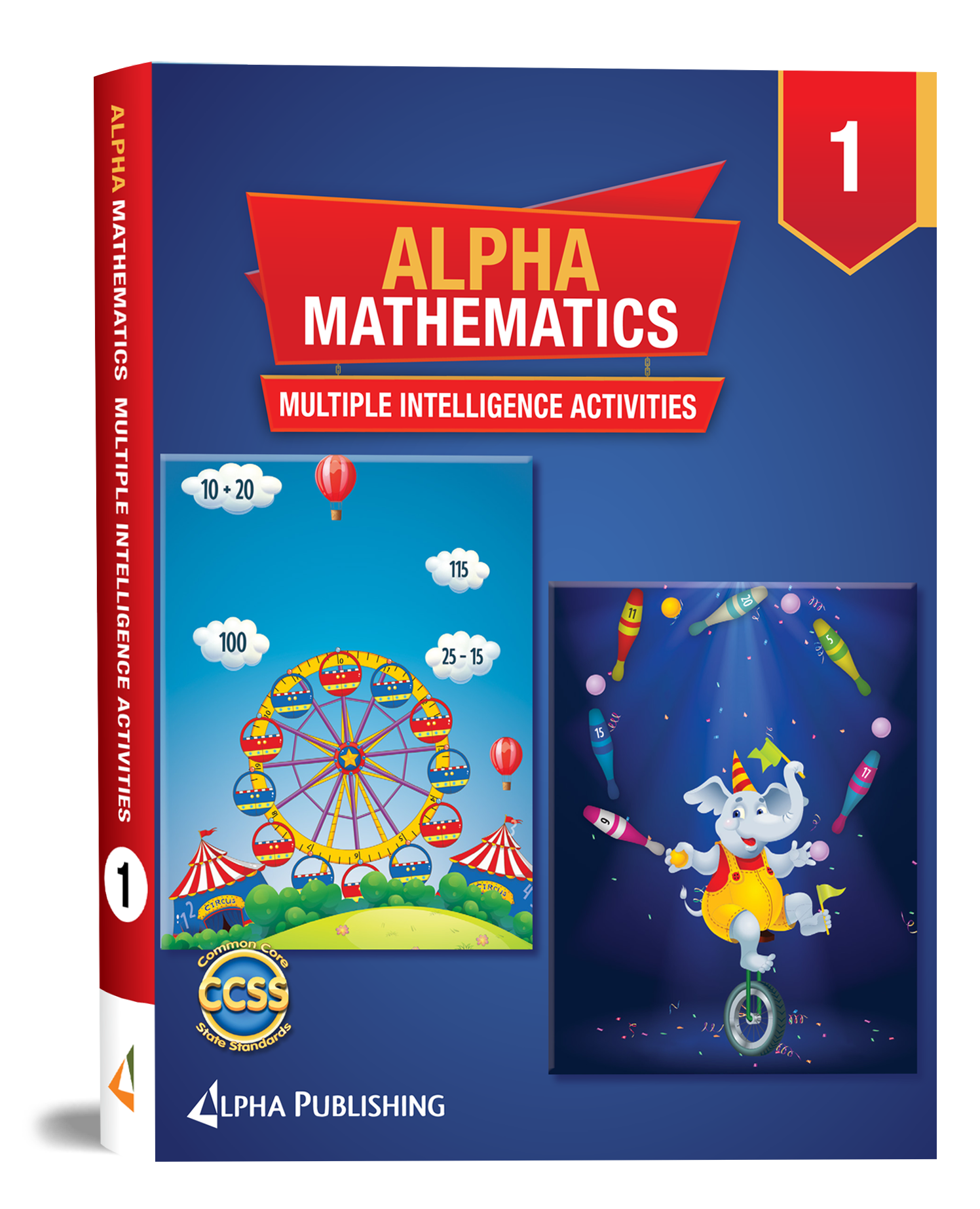 Alpha Math GR1 Multiple Intelligence Activity Book