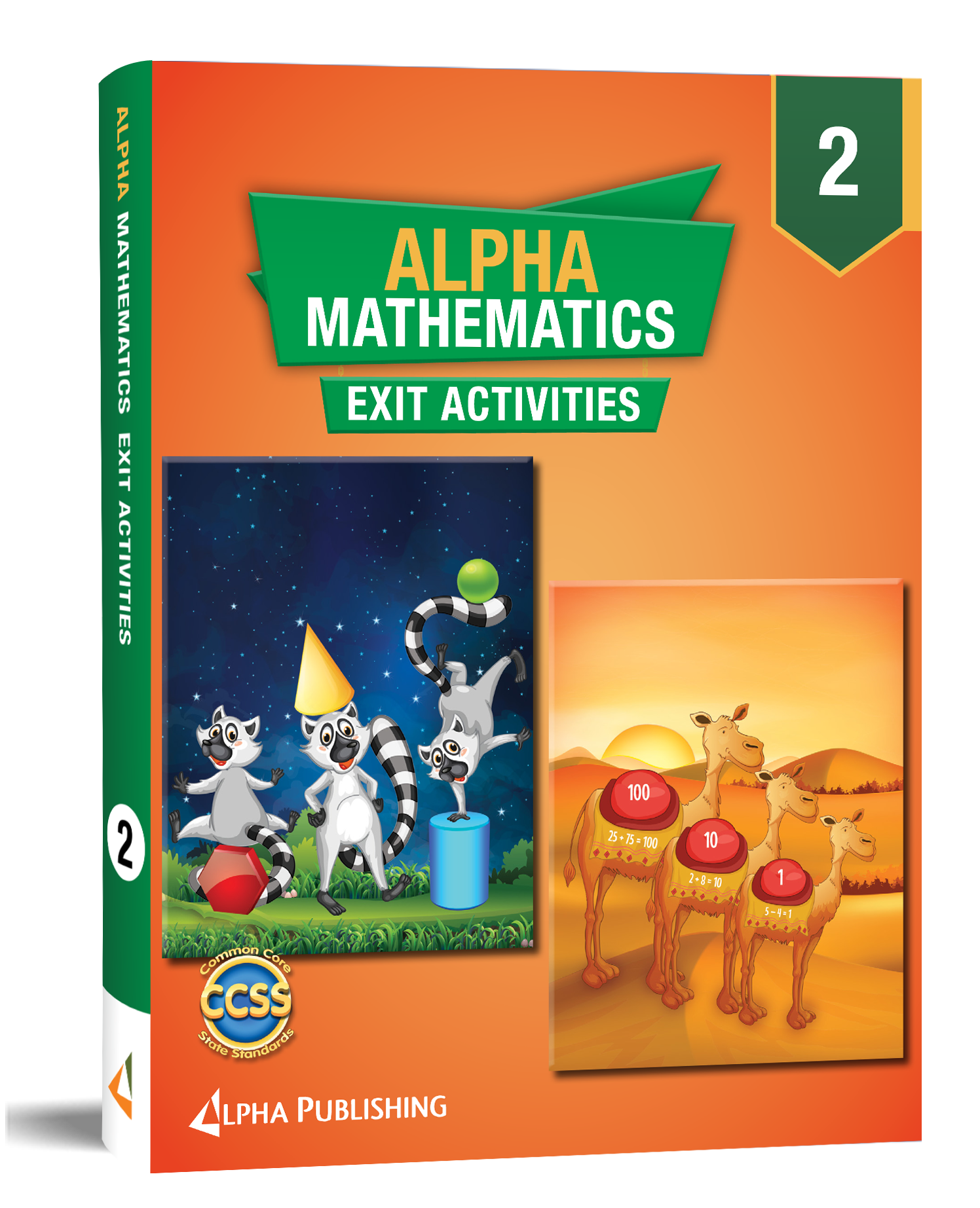 Alpha Math GR2 Exit Activity Book