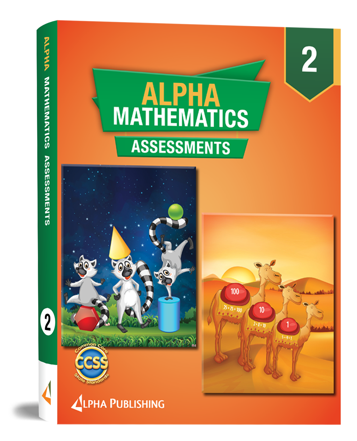 Alpha Math GR2 Assessment Book