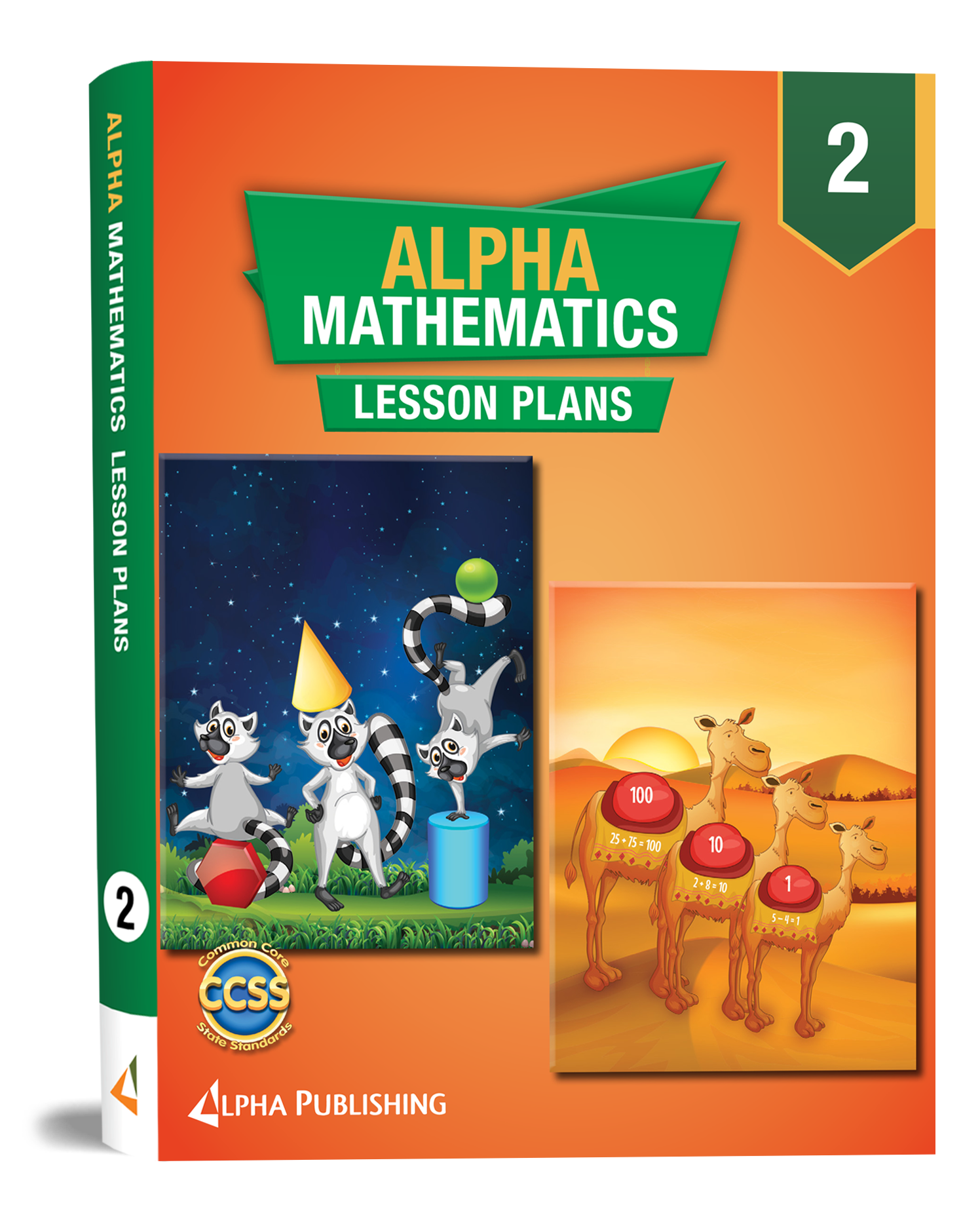 Alpha Math GR2 Lesson Planner