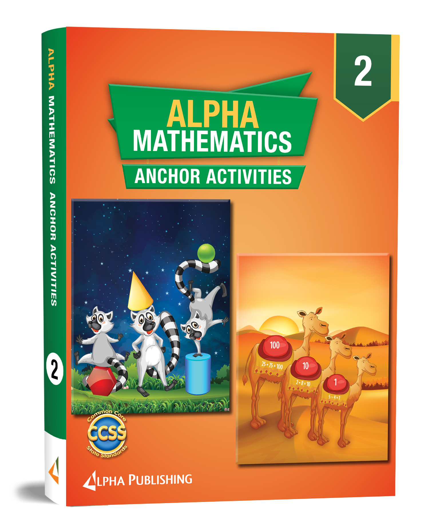 Alpha Math GR2 Anchor Activity Book