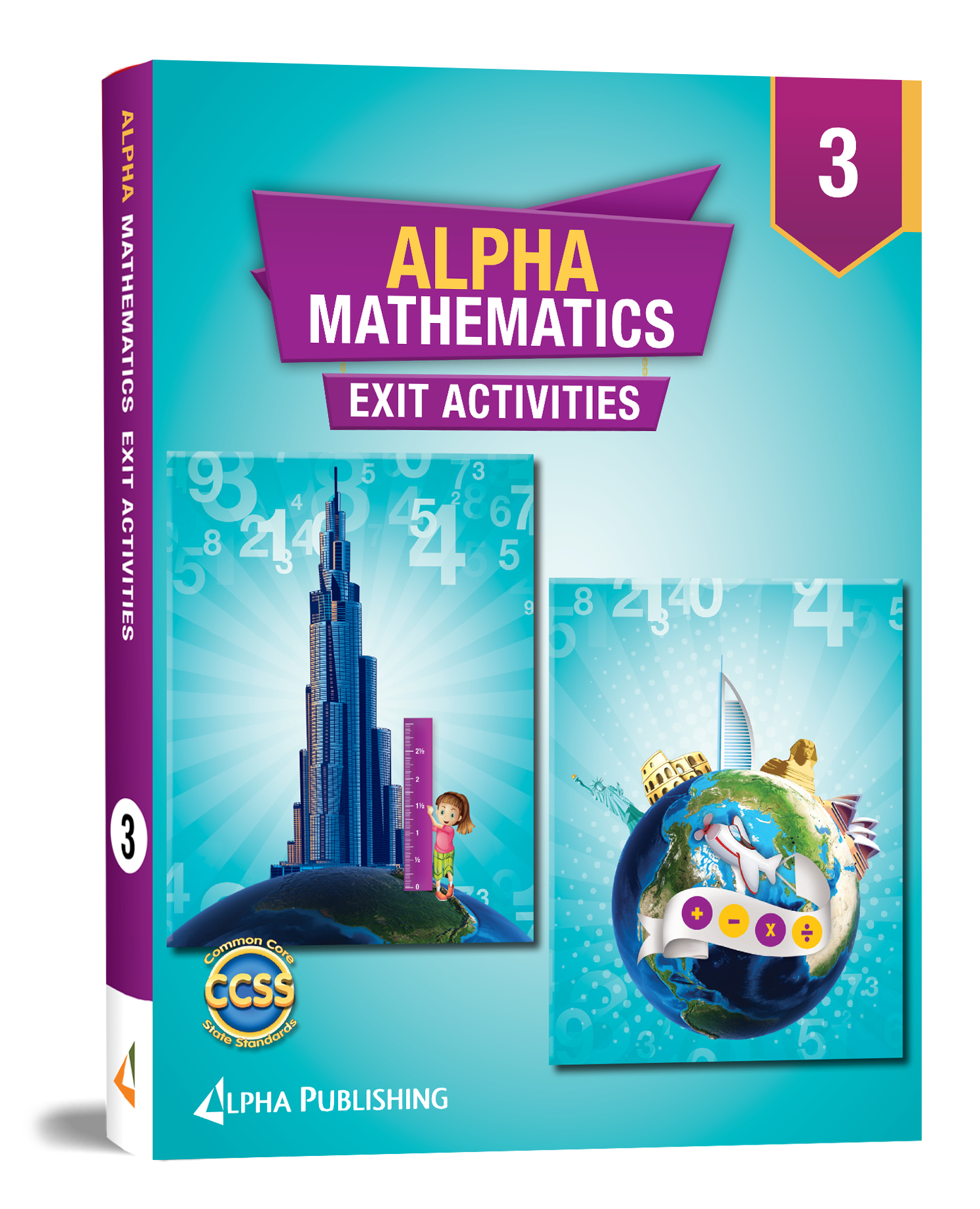 Alpha Math GR3  Exit Activity Book
