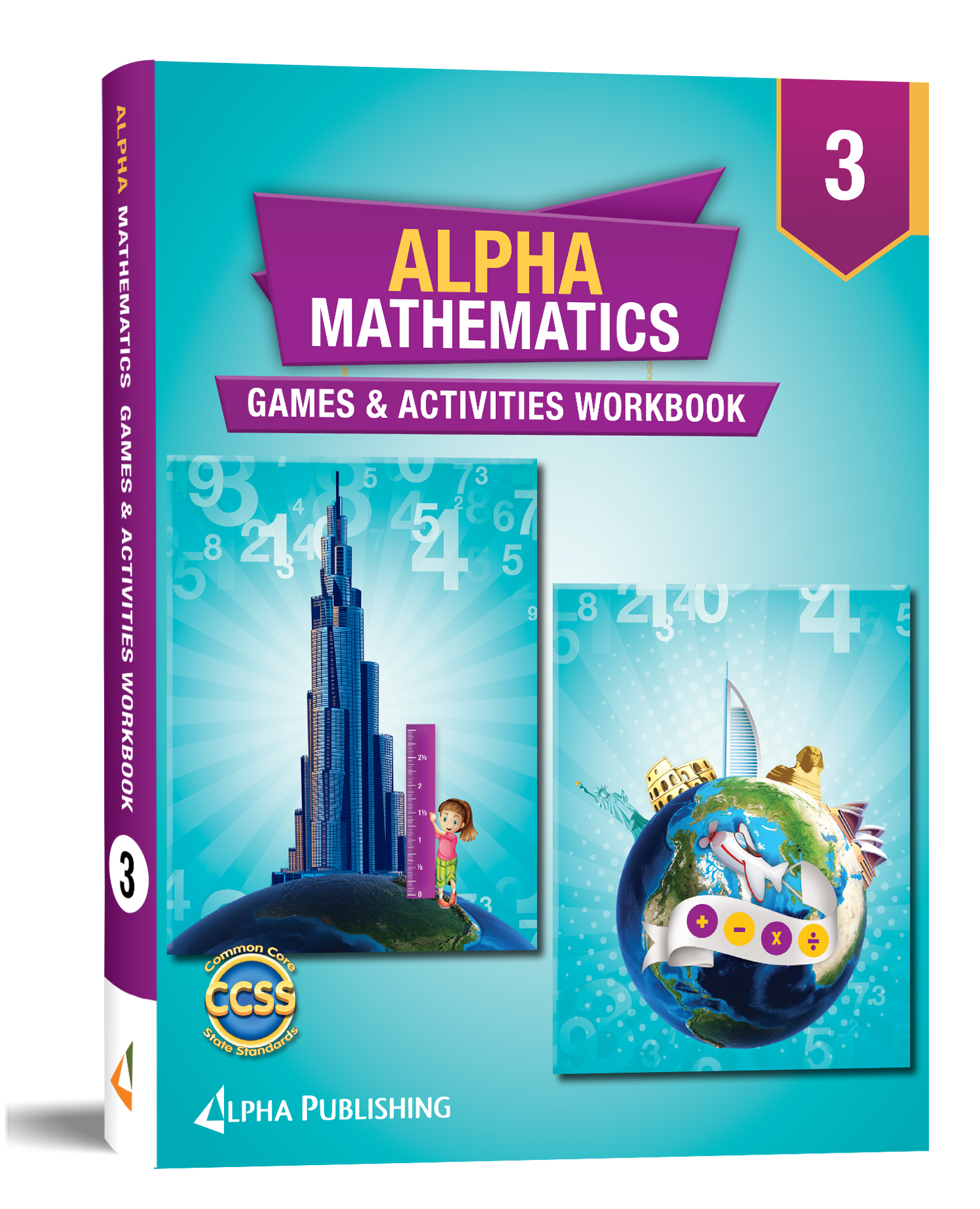 Alpha Math GR3 Games and Activities
