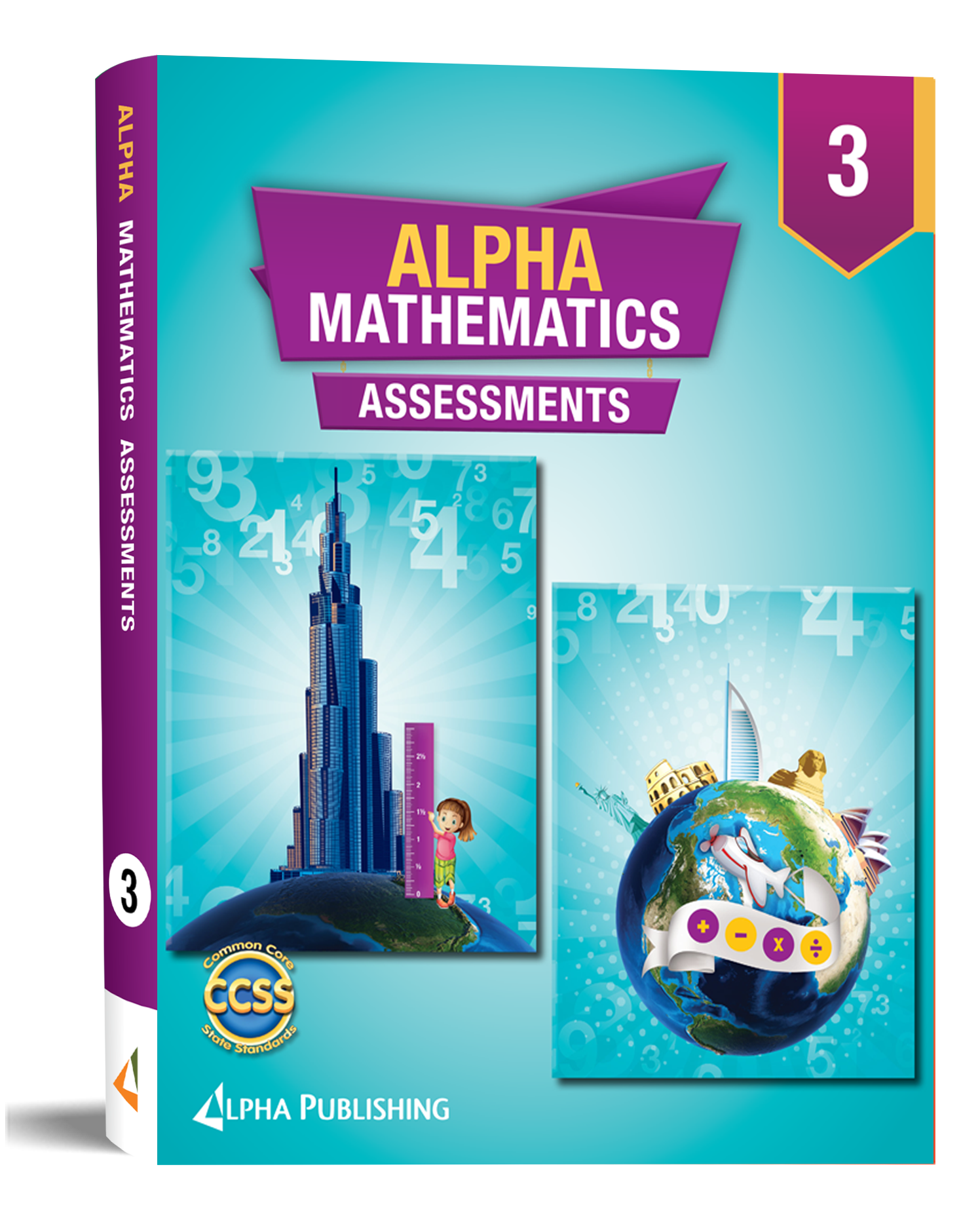 Alpha Math GR3 Assessment Book