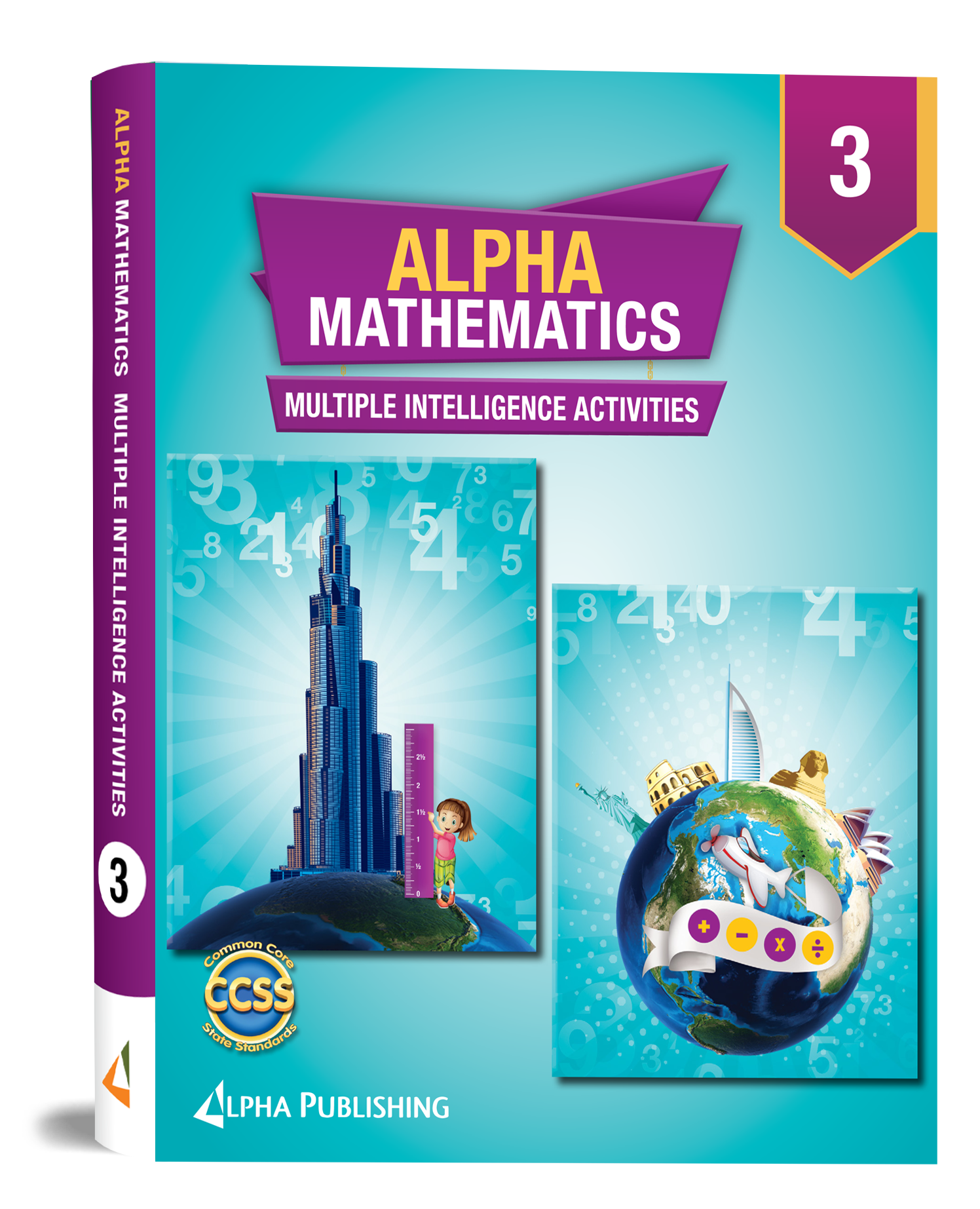 Alpha Math GR3 AMultiple Intelligence Activity Book