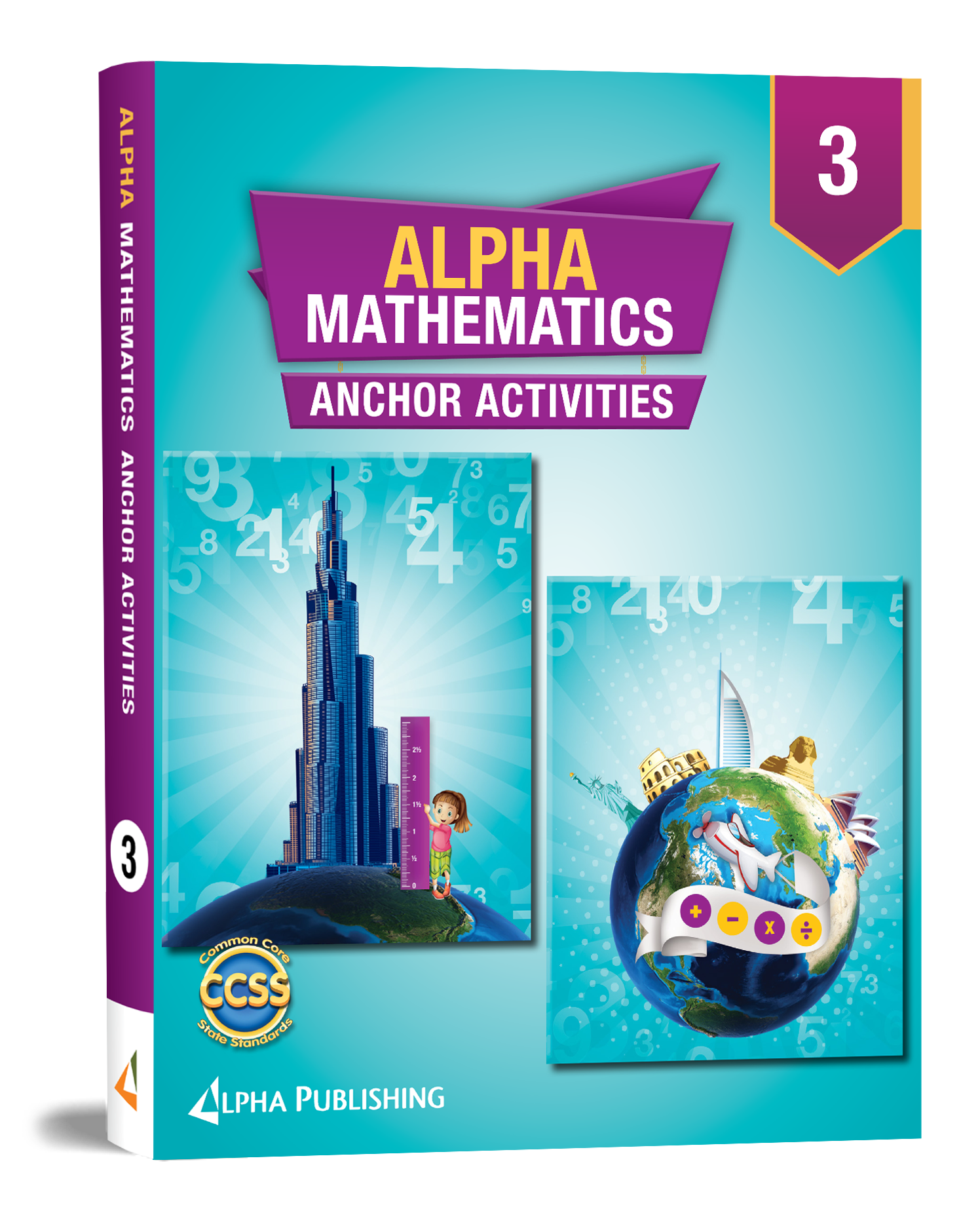 Alpha Math GR3 Anchor Activity Book