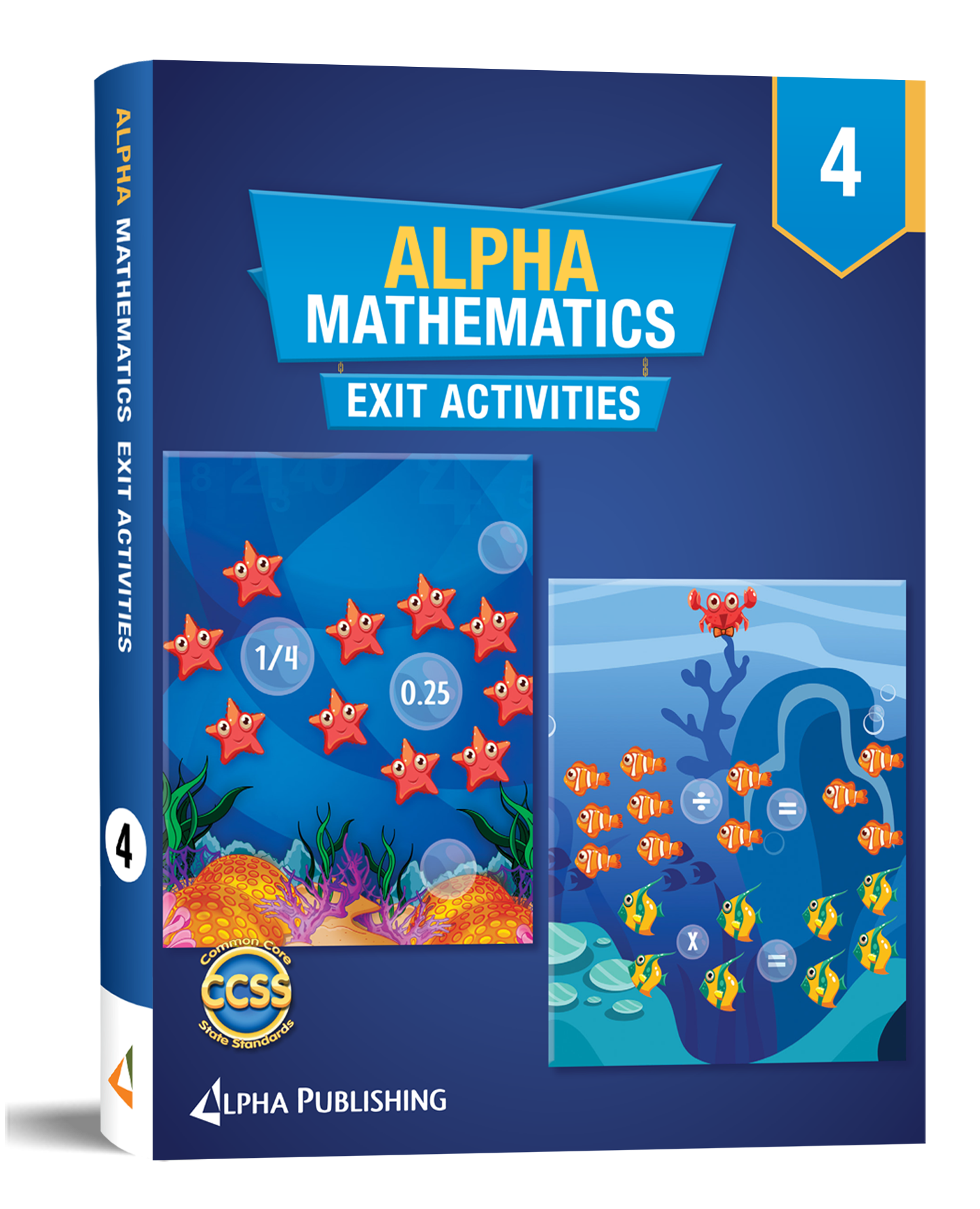Alpha Math GR4  Exit Activity Book