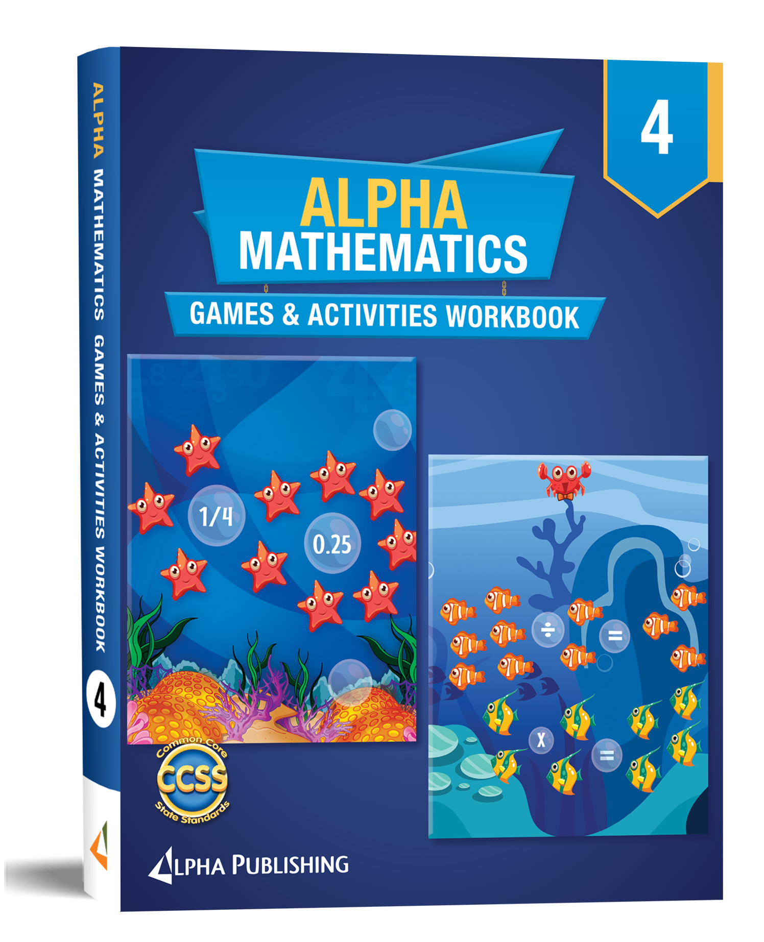 Alpha Math GR4 Games and Activities