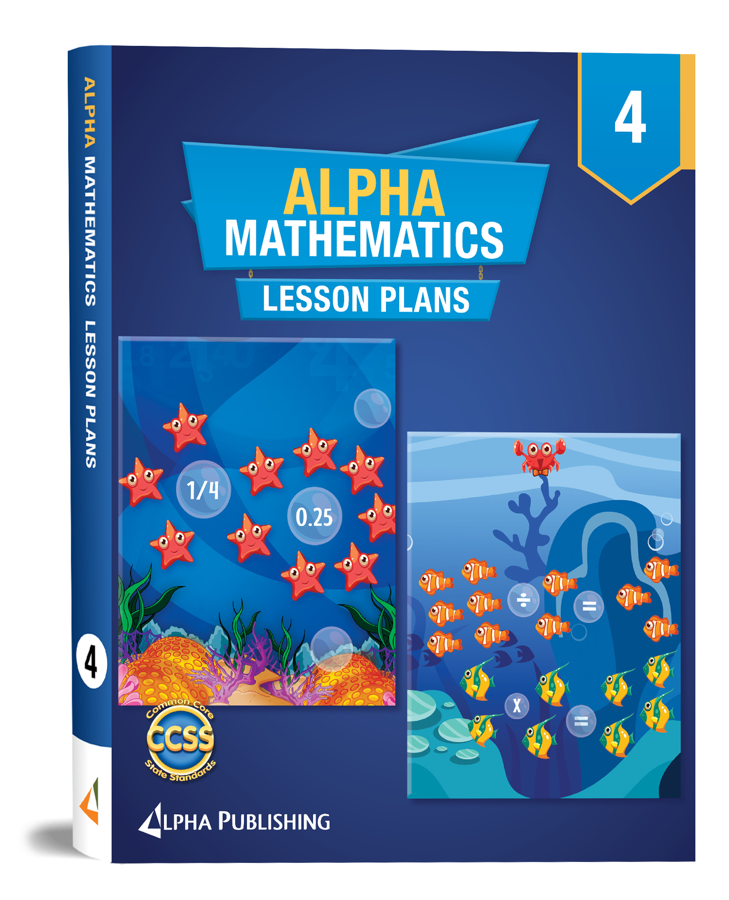 Alpha Math GR4 Lesson Planner
