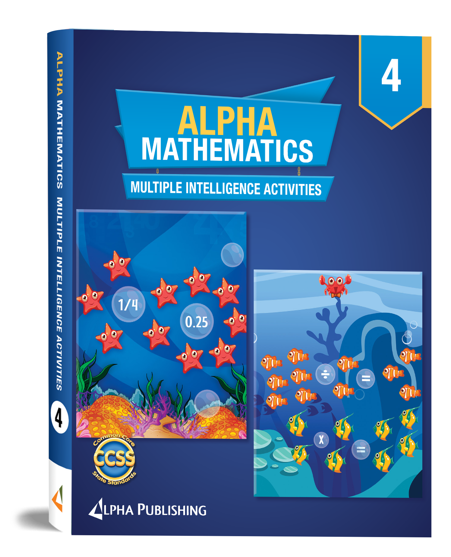 Alpha Math GR4 Multiple Intelligence Activity Book