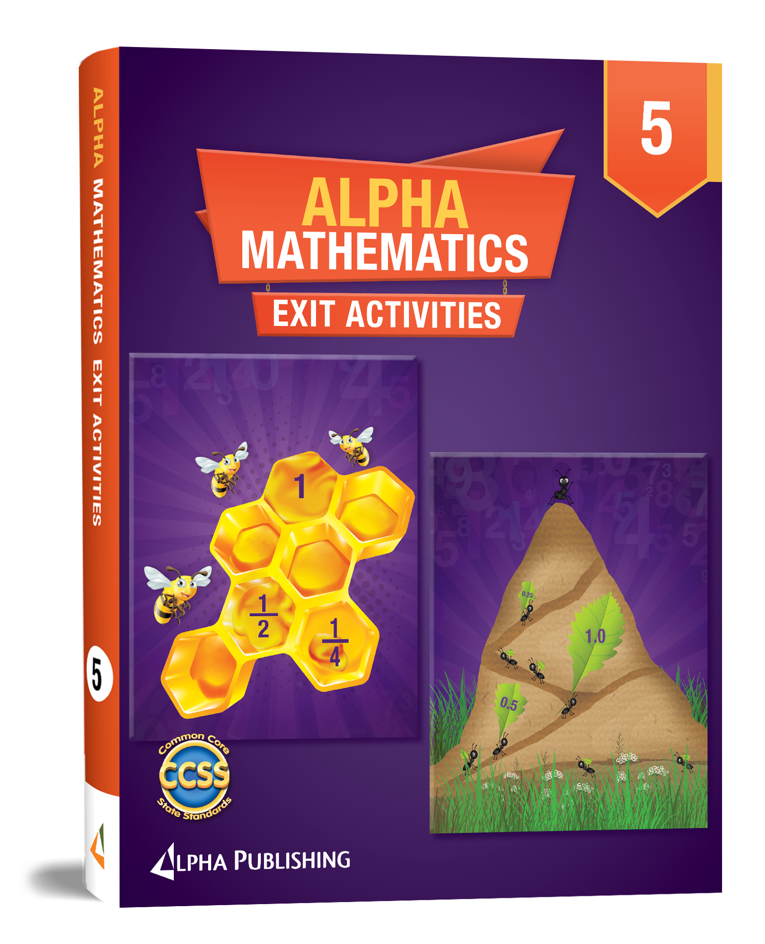 Alpha Math GR5  Exit Activity Book