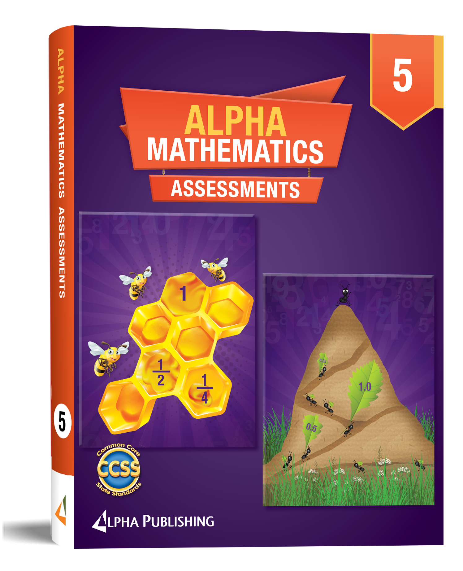 Alpha Math GR5 Assessment Book