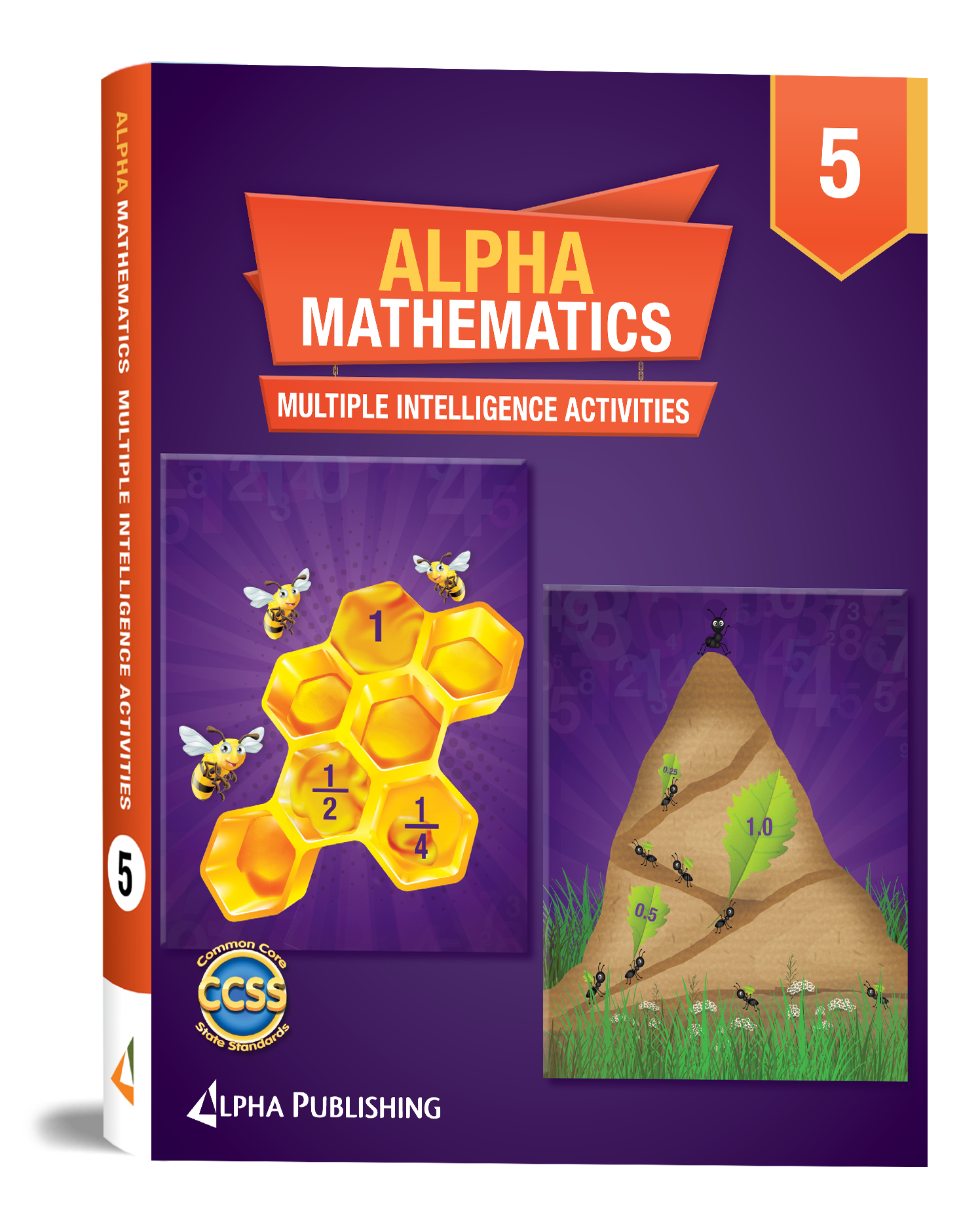 Alpha Math GR5 Multiple Intelligence Activity Book